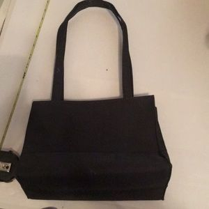 Borghese black large bag casual used gently